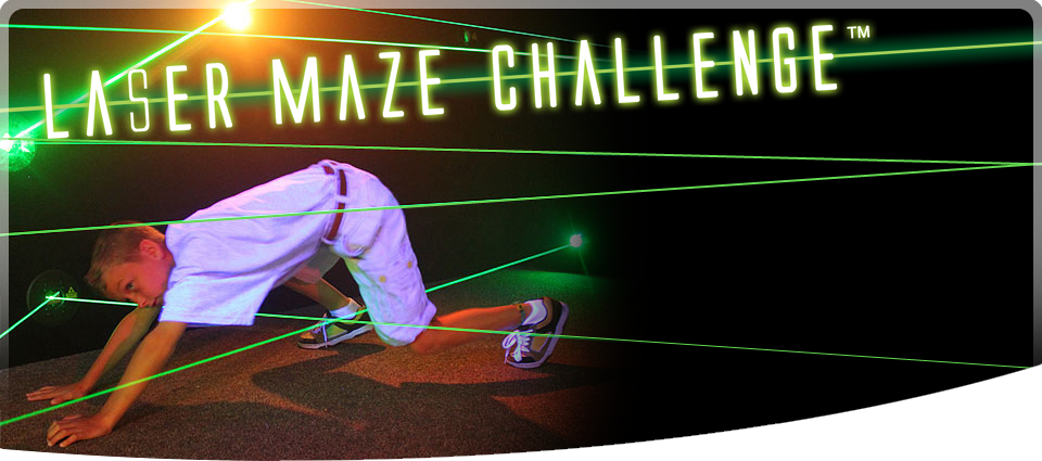 Laser Maze - Heart Pounding Action!